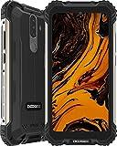 DOOGEE S58 Pro (2020) Outdoor Smartphone Ohne Vertrag Spezieller Schutzwinkel 6GB RAM 64GB ROM 5,71 Zoll FHD+ 16MP+16MP Triple Kamera 5180 mAh 4G Dual SIM Handy NFC GPS Android 10.0 (Schwarz)