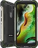 DOOGEE S58 Pro (2020) Outdoor Smartphone Ohne Vertrag Spezieller Schutzwinkel 6GB RAM 64GB ROM 5,71 Zoll FHD+ 16MP+16MP Triple Kamera 5180 mAh 4G Dual SIM Handy NFC GPS Android 10.0 (Grün)