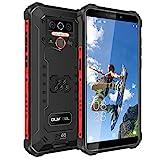 OUKITEL WP5 Pro Outdoor Smartphone Ohne Vertrag IP68 wasserdicht Outdoor Handy 8000mAh Android 10.0 4G 4G Dual SIM Rugged Smartphone 4GB+64GB 5,5 Zoll Triple Kamera Face/Fingerprint ID1Jahr Garantie