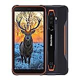 Blackview BV6300 Pro Outdoor Smartphone ohne Vertrag, 5,7 Zoll Android 10, 16MP Quad-Kamera mit Smart HDR, P70 Octa-Core 6GB/128GB, 4380mAh Akku, Dual SIM Handy - Ultraslim Ergonomisches Design