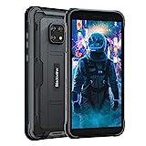 Blackview BV4900 (2021) Outdoor Smartphone ohne Vertrag (Android 10, 5580mAh Akku, 3GB RAM+32GB ROM, NFC, Gesichtserkennung) 5,7 Zoll Display 4G Dual SIM Handy IP68 Wasserdicht Schwarz
