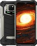 DOOGEE S88 Pro (2020) Outdoor Handy 4G Wasserdichter Smartphone Ohne Vertrag Mecha Atemlampe 10000mAh Reverse Charge Android 10.0 6GB+128GB 6,3 Zoll 21MP Triple Kamera IP68/IP69K Smartphone (Schwarz)