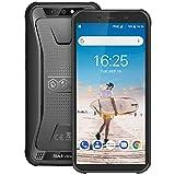 Blackview BV5500 Outdoor Smartphone ohne Vertrag Günstig - 5.5 Zoll (13.9cm) HD Display, 4400mAh Akku, 2GB/16GB 32GB erweiterbar, 8MP+0.3MP & 5MP, Dual SIM Handy - Face ID/OTG/GPS - Schwarz